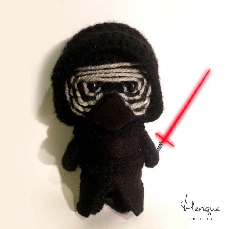kylo ren crochet