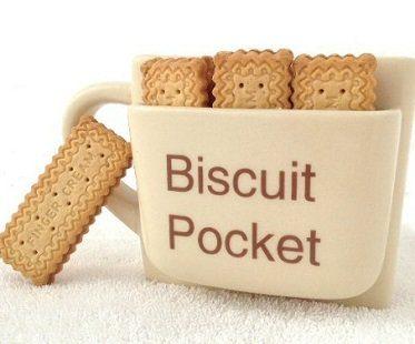 large biscuit pocket mug