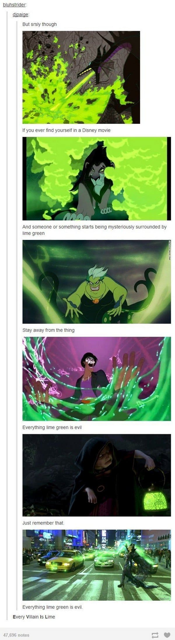 lime green evil