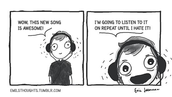 listen on repeat
