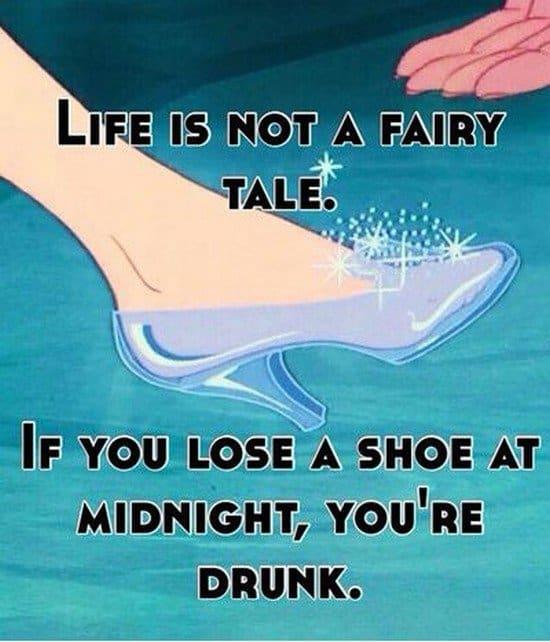 lost shoe drunk