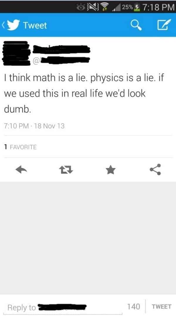 math physics lie