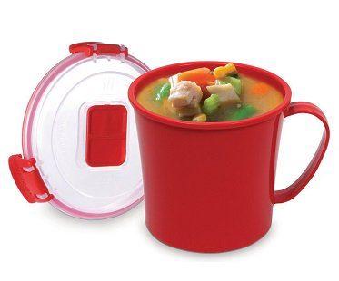 microwave soup mug heat proof