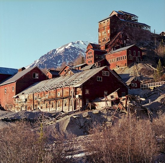 modern ghost towns kennecott