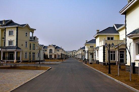 modern ghost towns ordos