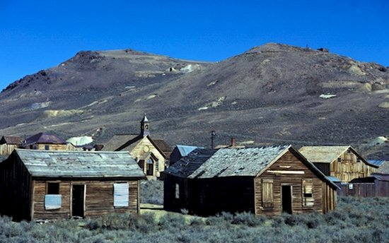 modern ghost towns usa bodie