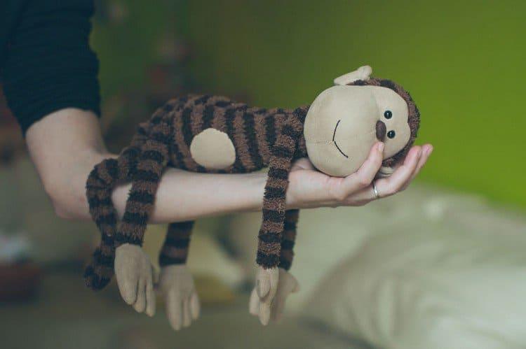 monkey on arm