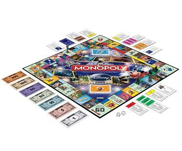 monopoly disney edition board