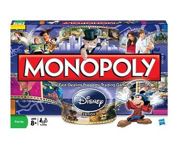monopoly disney edition box