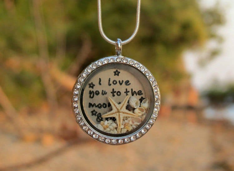 moon starfish necklace
