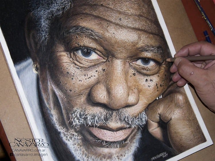 morgan-freeman-portrait-two