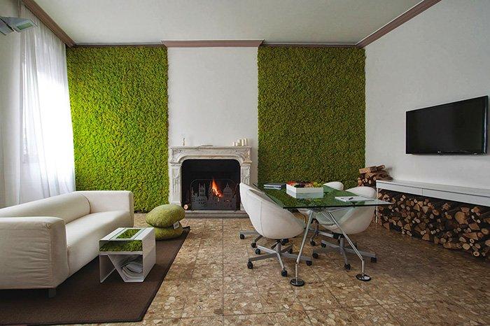 moss-walls