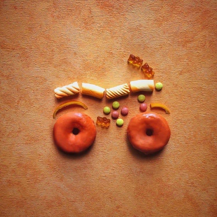 motorbike-donuts
