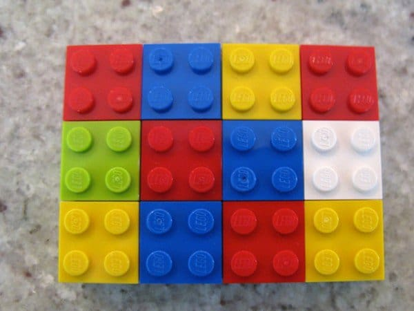 multi colored squares