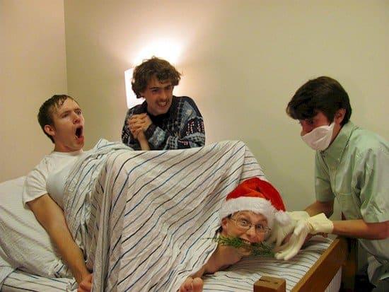 nativity scene recreation