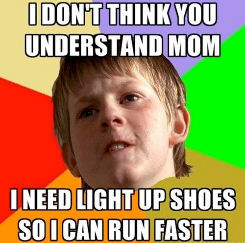 need light up shoes