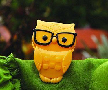 nerd owl clips