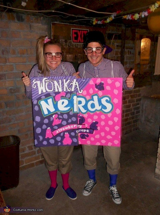 nerds couple