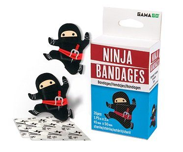 ninja bandages box