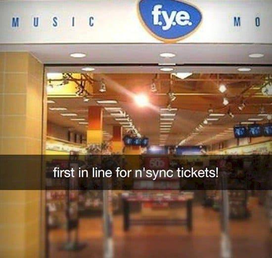 nsync tickets