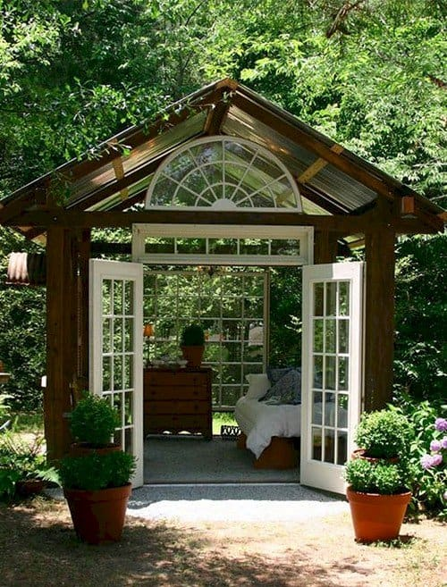 outdoors indoors shed