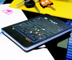 pac-man notebook