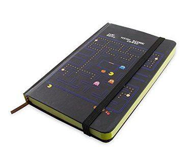 pac-man notebook black