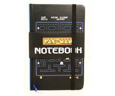 pac-man notebook retro