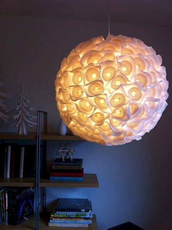 paper orb light
