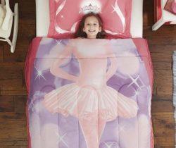 pink ballerina bedding set