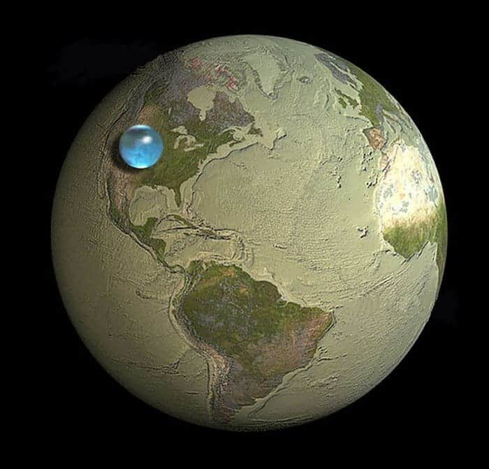 planet water sphere