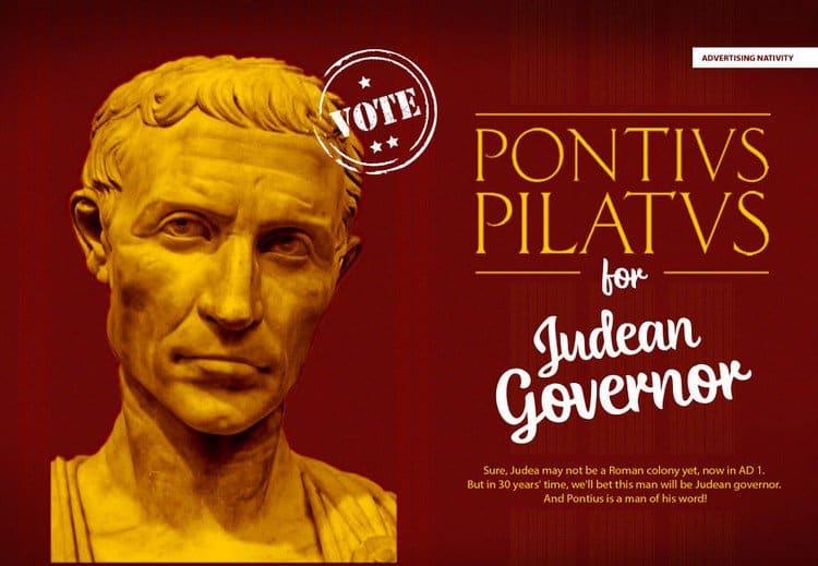 pontius pilate ad