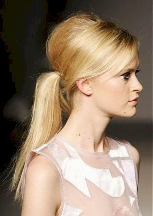 ponytails-bouffant