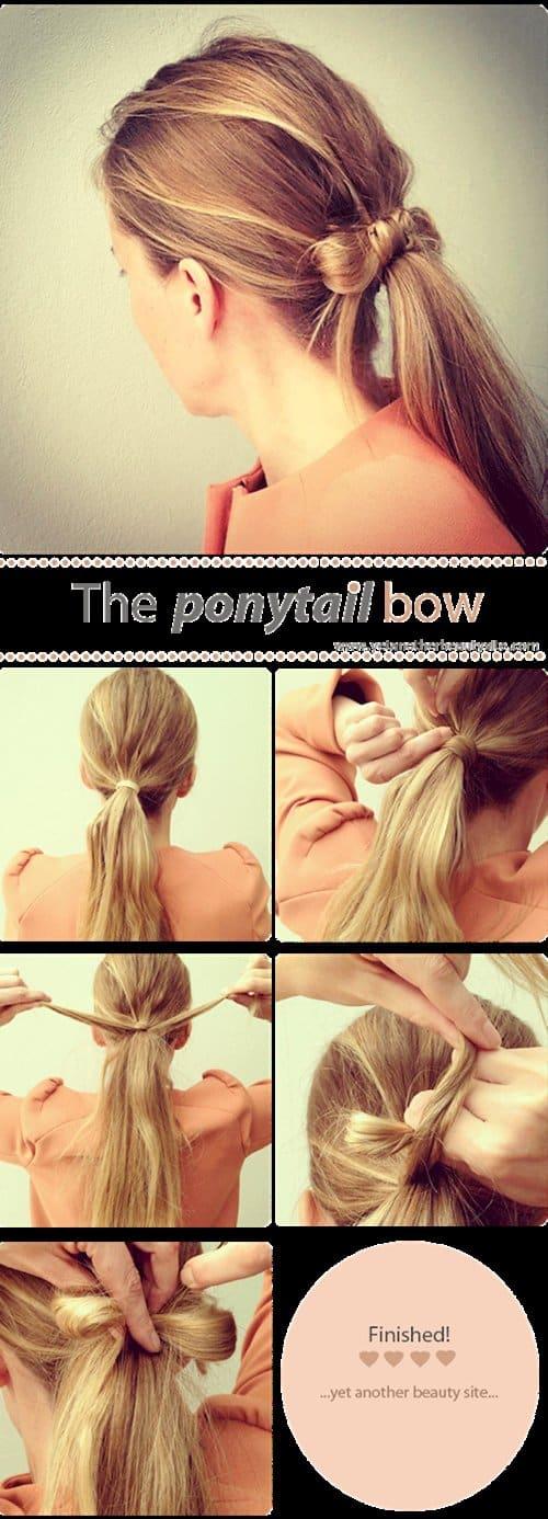 ponytails-bow