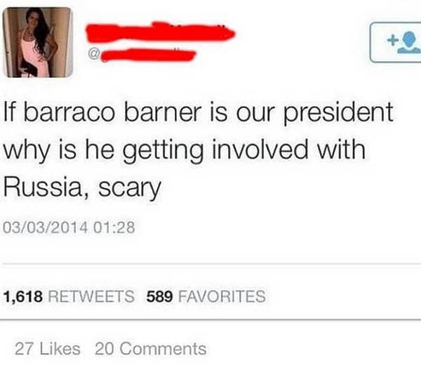 president name fail