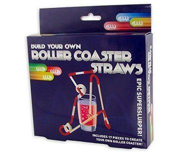 rollercoaster straws box