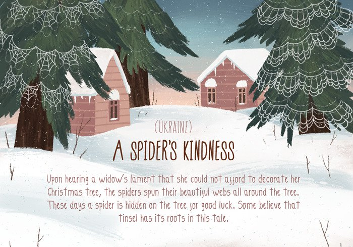romantic-christmas-traditions-spider
