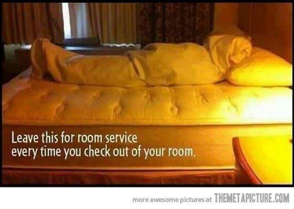 room service prank