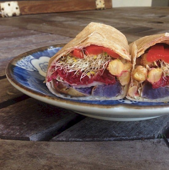 root veg wrap