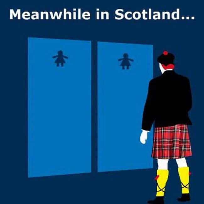 scottish toilet problem