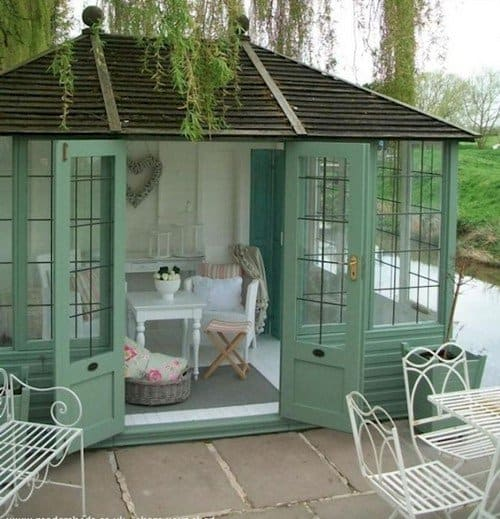 shabby chic shed
