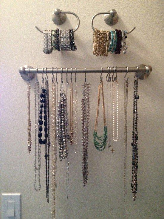 shower hooks rod jewelry