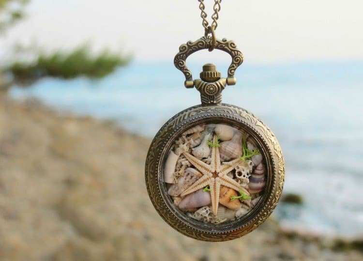 six armed starfish necklace