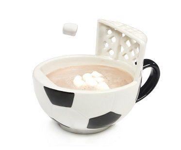 soccer mug hot cocoa
