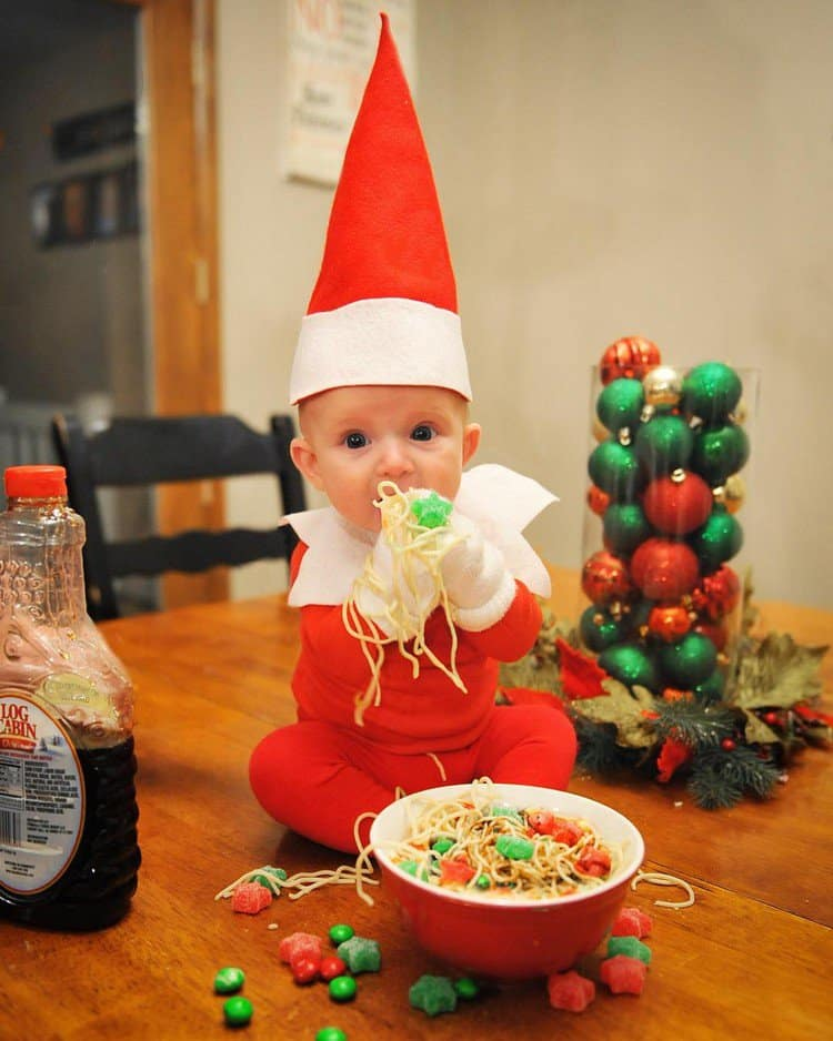spaghetti elf