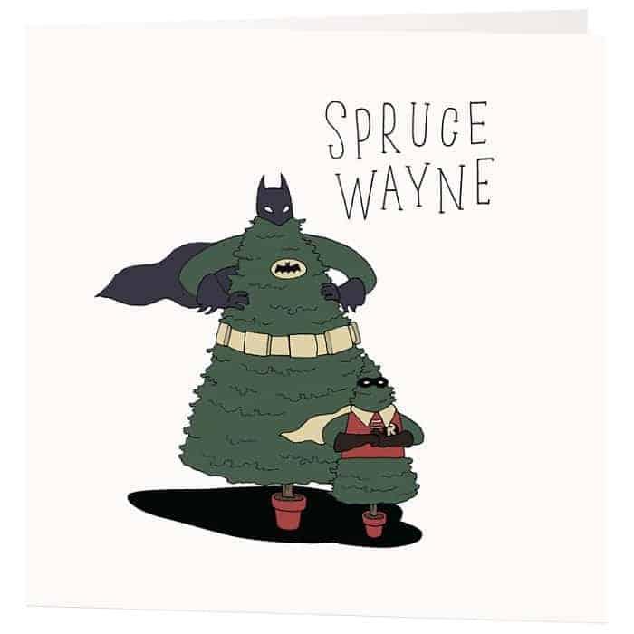 spruce wayne