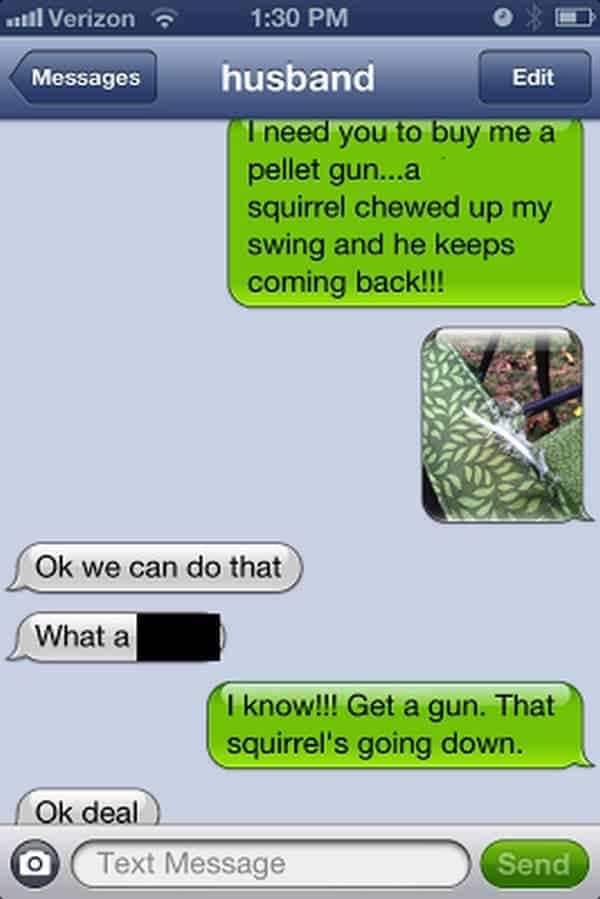 squirrel text