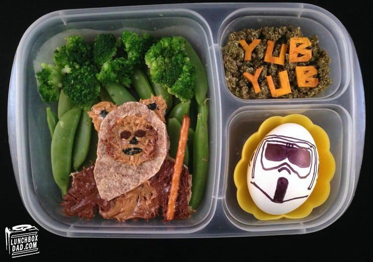 star wars lunch