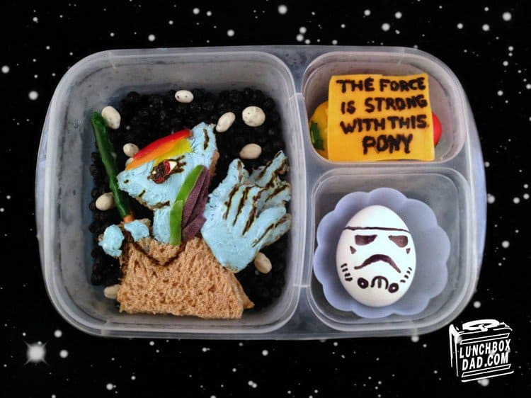star wars pony lunch