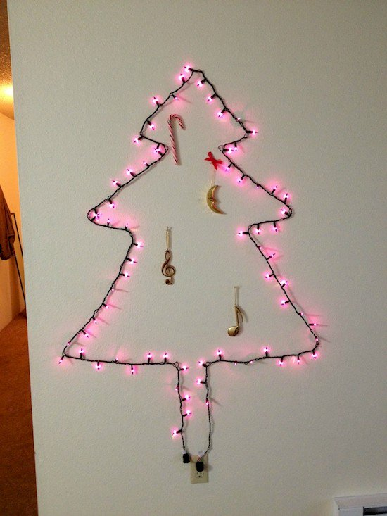 string light tree